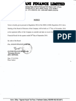 Board Meeting Intimation for Results [Board Meeting]