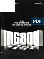 Motorola M6800 Programming Reference Manual M68PRM(D) Nov76