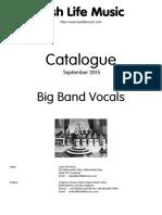 Vocal Catalogue