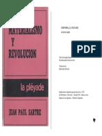 SARTRE, Jean Paul, Materialismo y Revolución.pdf
