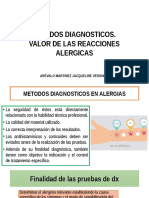 METODOS DIAGNOSTICOS ALERGIAS