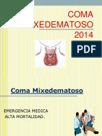 Coma Mixedematoso 2014
