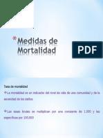 Medidas de Mortalidad