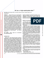 Similar weight loss with low- or high-carbohydrate diets. Golay 1996