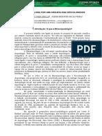 Etnoarqueologia Por Uma Arqueologia Descolonizada
