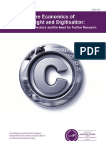 SABIP - The Economics of Copyright and Digitisation A Report on the Literature and the Need for Further Research