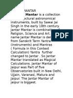 Jantar Mantar Facts
