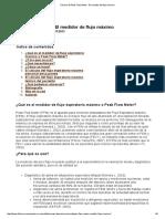 Técnica de Peak Flow Meter - El Medidor de Flujo Máximo 2013