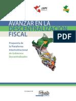 Resumen Propuesta Comision Descentralizacion Fiscal