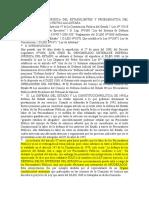 La Defensa Juridica Del Estadolimites y Problemática Del Sistema Dr