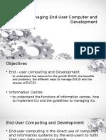 Chapter 7 - Managing EUCD