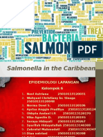 TUGAS 1 - Salmonella in the Caribbean