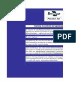 Sistema de controle de reprodução de ovinos (planilha Excel). Fonte EMBRAPA RS