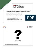 03 Pengembangan Produk Pmw 2015