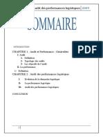 audit des performances logistiques rapport (Réparé)