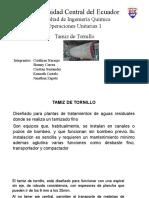 Tamiz de Tornillo