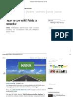 'ABAP for SAP HANA' Points to Remember – SAP Yard