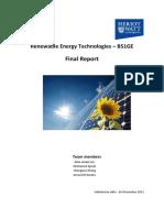 RES Final Report