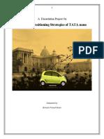 Brand Positioning Strategies of TATA Nano