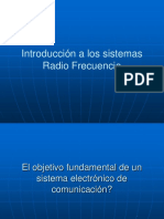 INTRODUCCION A LA RADIO FRECUENCIA