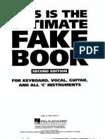 The Ultimate Fake Book Pdf