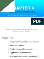 MATH 26 4.4 Optimization