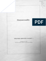 Homosexuality Welfare Services Packet 1 LDS Victor Brown