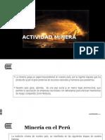 Etapas de La Actividad Minera