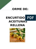 Informe de Aceitunas