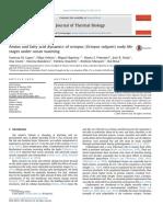Journal of Thermal Biology Volume 55 Issue 2016 [Doi 10.1016%2Fj.jtherbio.2015.11.006] Lopes, Vanessa M.; Faleiro, Filipa; Baptista, Miguel; Pimentel, -- Amino and Fatty Acid Dynamics of Octopus (Octo (2)
