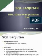 DML (Data Manipulation Language)
