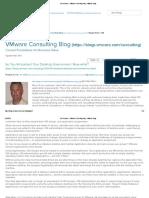 VDI Archives - VMware Consulting Blog - VMware Blogs