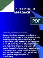 Curriculum Approacch