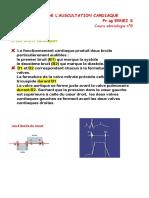 Sémiologie Anomalies Auscultation Cardiaque