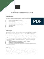 Licenciatura en Comercialización y Ventas -- Universidad Regiomontana