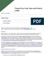 Aliso Canyon Natural Gas Leak