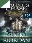 Riordan Rick Magnus Chase and the Gods of Asgard 2 Magnus Chase and the Hammer of Thor 2016 Penguin Books Ltd 9780141342573