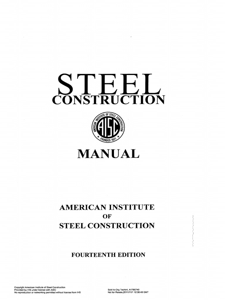 aisc manual 15th edition pdf free
