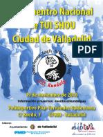 II Encuentro Nacional de Tui Shou Ciudad de Valladolid - Cartel_A2