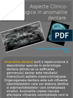 Radiologie Aspecte Clinico-Radiologice in anomaliile dentare ZMEU CRISTINA.pptx