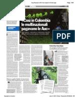 Colombia - Così le multinazionali finanziano la guerriglia