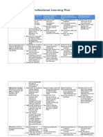 professional learning porfolio  professional development plan