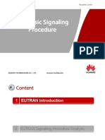 LTE Basic Signalling Procedure 20120903