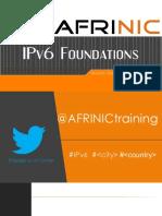 IPv6 Foundations v2016