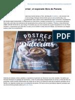 Mercadocalabajio.com-Postres y Otras Dulcerías El Esperado Libro de Pamela Rodríguez