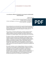 Los Artesanos Chilenos Del Siglo XX. Un Proyecto Modernizador-Democratizador