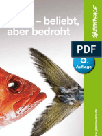 Fisch - beliebt, aber bedroht