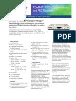 Trident TDA10071 Brief 10002A