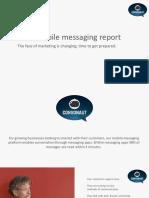 Social Media Messaging Report