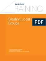22. Local System Administration Creating Local User Groups